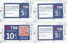 RICARICHE 4 TIM ULTIME EMISSIONI (CK716 - [2] Sim Cards, Prepaid & Refills