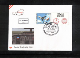 Austria / Oesterreich 2006 Stamp's Day FDC - Dag Van De Postzegel