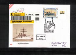 Austria / Oesterreich 2007 Stamp's Day FDC - Dag Van De Postzegel