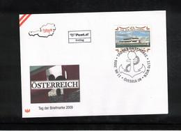Austria / Oesterreich 2009 Stamp's Day FDC - Dag Van De Postzegel
