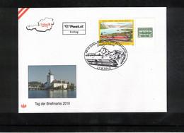 Austria / Oesterreich 2010 Stamp's Day FDC - Dag Van De Postzegel