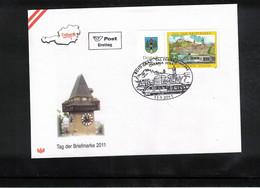 Austria / Oesterreich 2011 Stamp's Day FDC - Dag Van De Postzegel