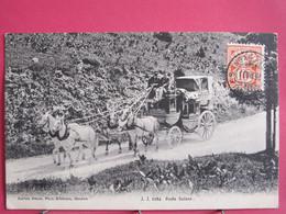 Suisse - Poste Suisse - Diligence Avec Attelage De 4 Chevaux - 1907 - CPA En Très Bon état - R/verso - Sin Clasificación