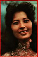00254 Thuy Van Vietnam Vietnamese Smile Actor Actress Actor Actress Movie Actor Actress Film 1975 USSR Soviet Card - Acteurs