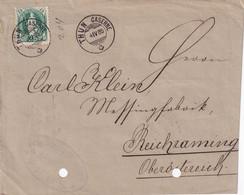 SUISSE 1885  LETTRE DE THUN CASERNE - Briefe U. Dokumente