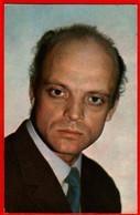 00276 Vladislav Dvorzhetsky Actor Actress Actor Actress Movie Actor Actress Film 1973 USSR Soviet Card - Acteurs