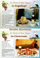 Les Recettes De Dame Cigogne : Dépliant De 10 Recettes - éditions Protet - Neuve - Recipes (cooking)