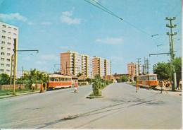 ROMANIA 1979: BUCHAREST, STREET VIEW, TRAMWAY, Unused Prepaid Postal Stationery Card 3383/1979 - Registered Shipping! - Interi Postali