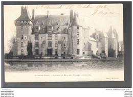 Carte De Saint Amand Château De Meillant  ( Recto Verso ) - Saint-Amand-Montrond