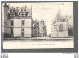 Carte De Saint Amand Château De Meillant  ( état Moyen ) ( Recto Verso ) - Saint-Amand-Montrond