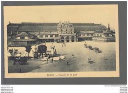 Carte De DIJON  La Gare ( Place ) ( Recto Verso ) - Dijon