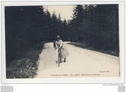 Carte De St Saint Igny De Vers Les Sapins Route De La Clayette ( Recto Verso ) - Non Classificati