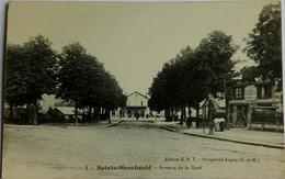 51 / Sainte Menehould (Marne) Avenue De La Gare - Sainte-Menehould