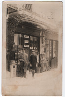 CARTE PHOTO : DROGUERIE - EPICERIE - QUINCAILLERIE - ANTESITE - CRISTALLIS - VENTE CARTES MICHELIN - BALAIS PAILLE -zz- - Shops