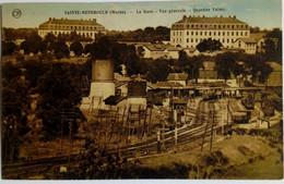 51 / Sainte Menehould (Marne) La Gare Vue Générale Quartier Valmy - Sainte-Menehould