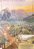6 Reproductions D'affiches Publicitaires De LA BOURBOULE. Toutes En Couleur Et En TBE. Scannées Recto-verso - 5 - 99 Postcards