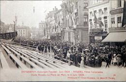 Antwerpen, Koloniale Feesten Juni 1909, 18 La Place De Meir - Antwerpen