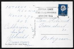 Utrecht: Centraal Comité Wereldraad Van Kerken Utrecht 1972 - Poststempels/ Marcofilie