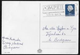 's-Gravenhage: Pompeii - Haags Gemeentemuseum 26/9/'73 - 13/1/'74 - Poststempels/ Marcofilie