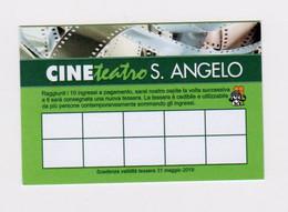 Tessera Cine Teatro S. Angelo 2019 - Organizaciones