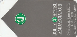 SCHEDA PER CAMERA ALBERGO (CK1163 - Hotel Keycards