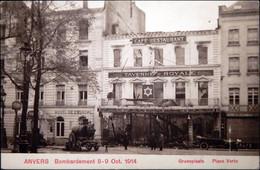 Anvers Bombardement 8-9 Oct. 1914, Groenplaats, Place Verte - Antwerpen