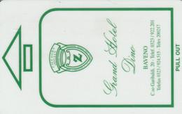 SCHEDA PER CAMERA ALBERGO (CK1179 - Hotel Keycards
