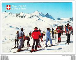 Carte ( Format 15 X 10,5 Cm )  Le Val D' Isère  Sommet De Bellevarde  La Grande Motte La Grande Casse  ( Skieur ) - Val D'Isere
