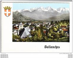 Carte ( Format 15 X 10,5 Cm ) Sallanches ( Recto Verso ) - Sallanches