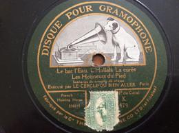 78 Tours - Gramophone  - Le Cercle Du Bien Aller - Cors De Chasse Pour Titres Voir Photos - 78 G - Dischi Per Fonografi