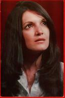 00341 Eslinda Nunez Cuba Cuban Hair Actor Actress Actor Actress Movie Actor Actress Film 1975 USSR Soviet Card - Acteurs