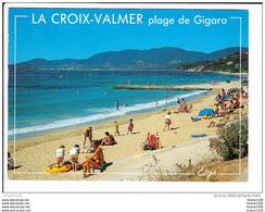 Carte ( Format 15 X 10,5 Cm )  La Croix Valmer  Plage De Gigaro  ( Recto Verso ) - Other Municipalities