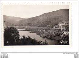 Carte De Tréboul  Pont Suspendu  ( Format C.P.A )( Recto Verso ) - Autres Communes