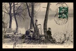 95 - AUVERS-SUR-OISE - LES BORDS DE L'OISE A CHAPONVAL - Auvers Sur Oise