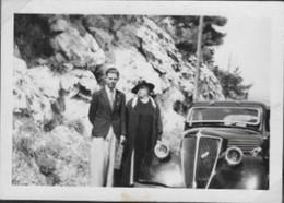 13/ MARSEILLE / LE ROVE / L ESTAQUE  / TRES BELLE PHOTO 1940 / SUR LA ROUTE - L'Estaque