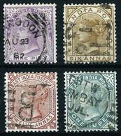 India (Británica) Nº 29/32 Usado Cat.80€ - 1858-79 Crown Colony