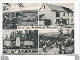 Carte ( Format 15 X 10,5 Cm ) Gruss Aus Hottenbach Hunsrück Kaufhaus Otto Weyand Post Idar Oberstein  ( Recto Verso ) - Non Classificati