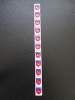 TPN1510-1 - 1971 - Armoiries-  Lot De 11 Timbres De Roulette Dont 1 Avec Numéro Rouge - YT 1510*10, 1510b*1 -  Cf Scans - Neufs