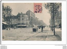 Carte De  BOULOGNE SUR SEINE  Avenue Victor Hugo  Carrefour De La Reine ( Recto Verso ) - Autres Communes