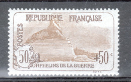 Y & T N°153 Neuf*, Trace De Charniere, Mint Hanged - Unused Stamps
