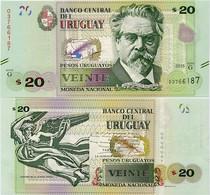 URUGUAY      20 Pesos Urug.    P-93       2015       UNC - Uruguay