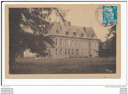 Carte De SAINT NICOLAS D' ALIERMONT Le Château  ( Recto Verso ) - Autres Communes
