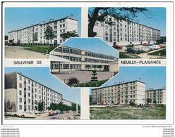 Carte ( Format 15 X 10 Cm ) De Neuilly Plaisance  Cité / Hlm / école   ( Recto Verso ) - Neuilly Plaisance