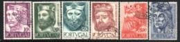 N° 817,8,9,21,4,5 - 1955 - Used Stamps