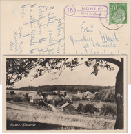 BRD - (16) Bühle über Arolsen Landpost-Ra2 Entspr. AK N. Landau 1957 - Non Classificati
