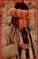 00384 Early Film Frame Cranes Nargul Kendirbaeva Kyrgyzstan Kyrgyzstan Hat Actor Actress Actor Actress Movie Actor - Acteurs