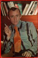 00385 Valery Spout Cigarette Smoking Tie Actor Actress Actor Actress Movie Actor Actress Film 1978 USSR Soviet Card - Acteurs