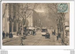 Carte  De  Nice  Avenue De La Gare   ( Tramway )   ( Recto Verso ) - Transport Urbain - Auto, Autobus Et Tramway