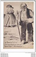 Carte Dessin Humoristique  Illustrateur Signé  Griff    ( Recto Verso ) Mauvais état - Griff