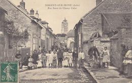 10 - Nogent Sur Seine (Aube) - Rue Basse Du Champ Calot - Animée - Nogent-sur-Seine